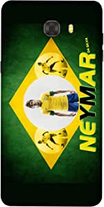 ColorKing Football Neymar Brazil 02 Multicolor shell case cover for Samsung C9 Pro