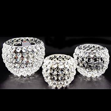 Kristall Deko deko vase mit strass kristall steine vasen figurvase teelichthalter