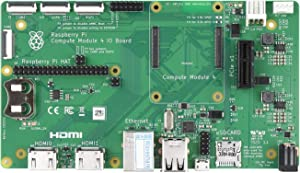 Waveshare Raspberry Pi Compute Module 4 IO Board a Development Platform and Reference Base-Board Design for CM4 Without WiFi