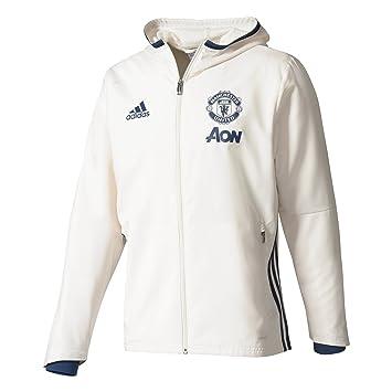 adidas MUFC Pre JKT Veste Manchester United FC, Homme