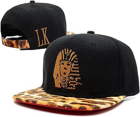 Last King snapback/gorras (negro con logo dorado): Amazon.es ...