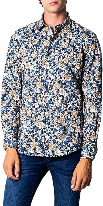 Antony Morato - Camisa de manga larga para hombre Stampa ...