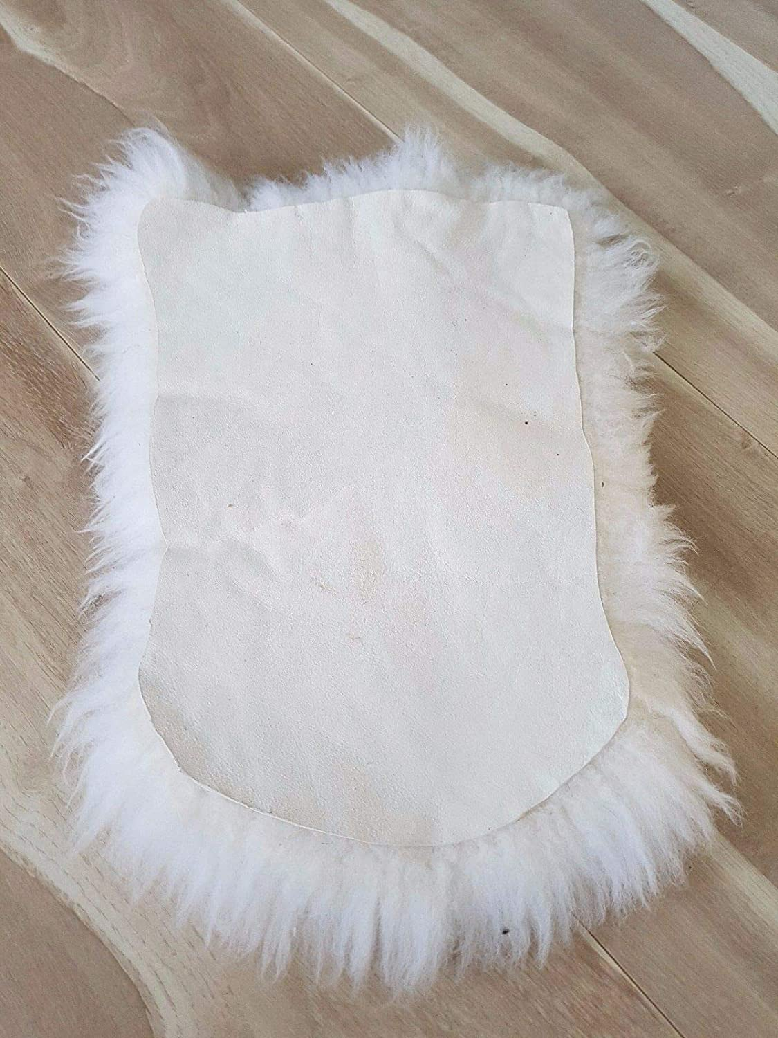 HappyFrog 100/% GENUINE SHEEPSKIN Chair Motorcycle Seat COVER with 2 Elastic Chrome Clips