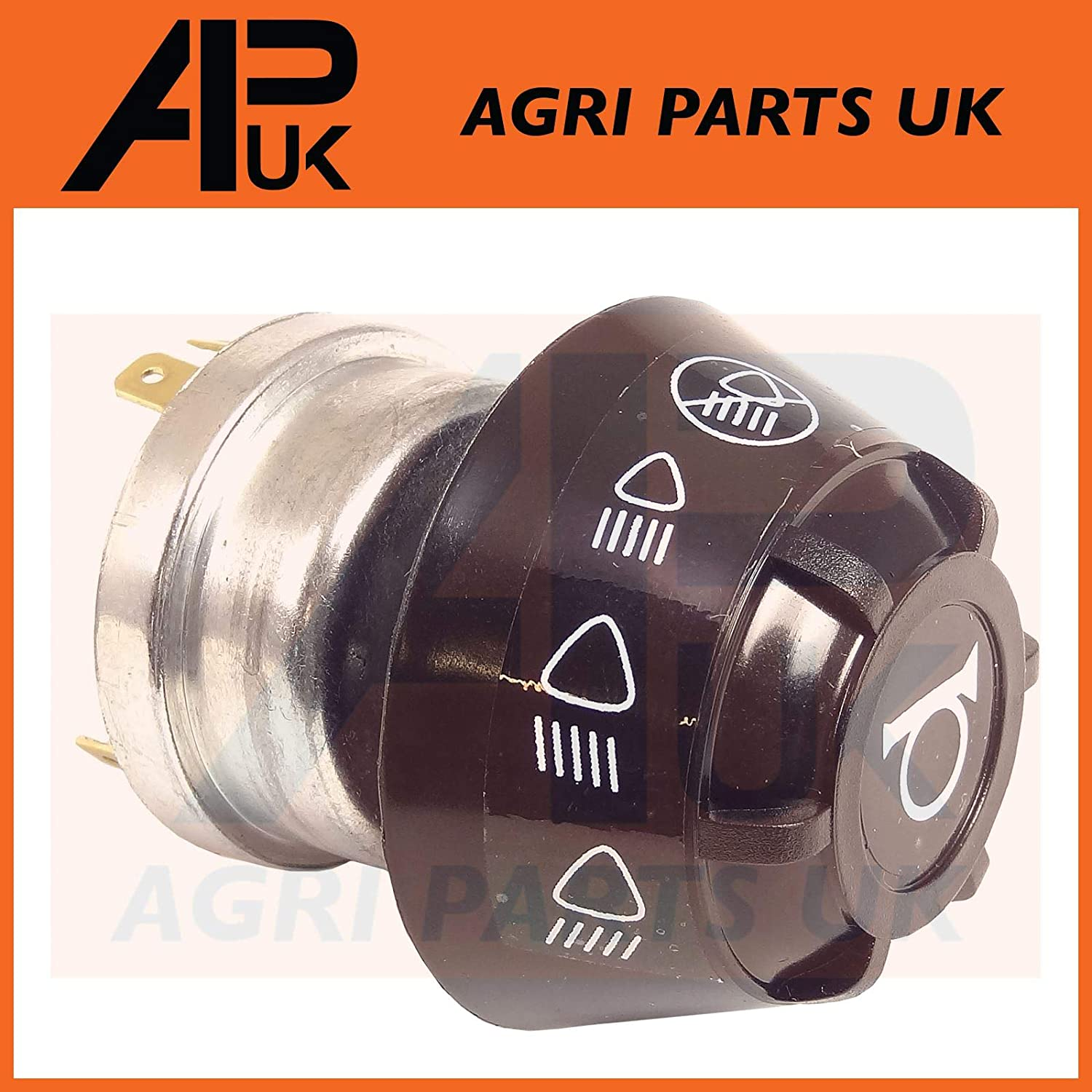 APUK Massey Ferguson 135 165 240 290 590 595 MF Tractor Headlamp Lamp Switch /& Horn