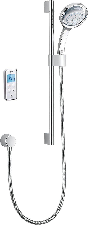 Mira Vision Digital Shower Rear Fed High Pressure/Combi Boiler 1.1797.003 - White/Chrome