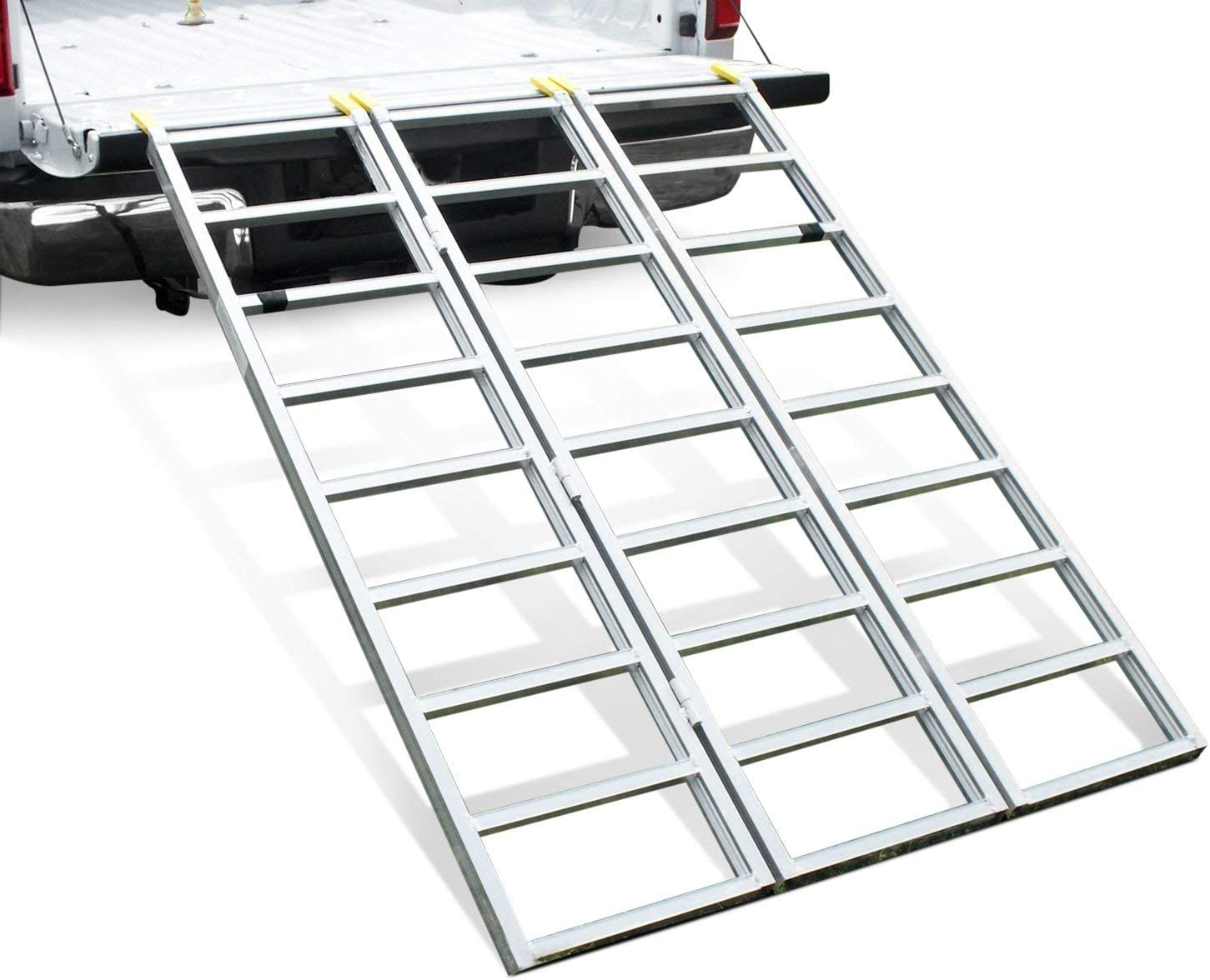 50 x 69 1500 lbs Load Capacity Great Day Trifold Aluminum Loading Ramp ATV