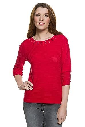 Gina Laura FASHION Shirt regular mit weitem Kragen schwarz NEU