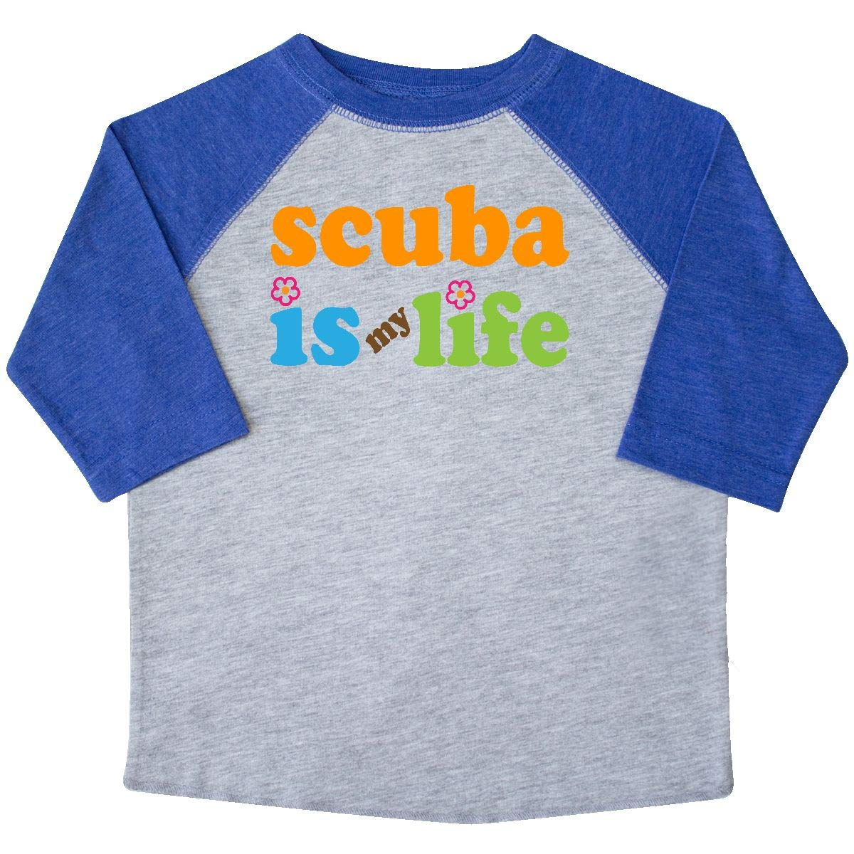 inktastic Scuba Diving is My Life Toddler T-Shirt