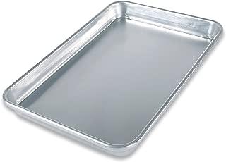 product image for USA Pan Bare Aluminum Bakeware 1045QS-BB Quarter Sheet Baking Pan Warp-Resistant, Rust-Proof Bakeware