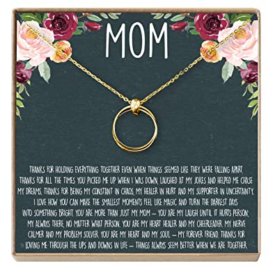 72783aafc2b8 Amazon.com  Dear Ava Mom Gift Necklace  Mother Daughter Jewelry ...