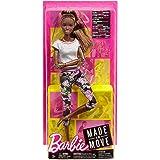 (Original, Brunette Ponytail) - Barbie Made to Move Doll - Original with brunette ponytail