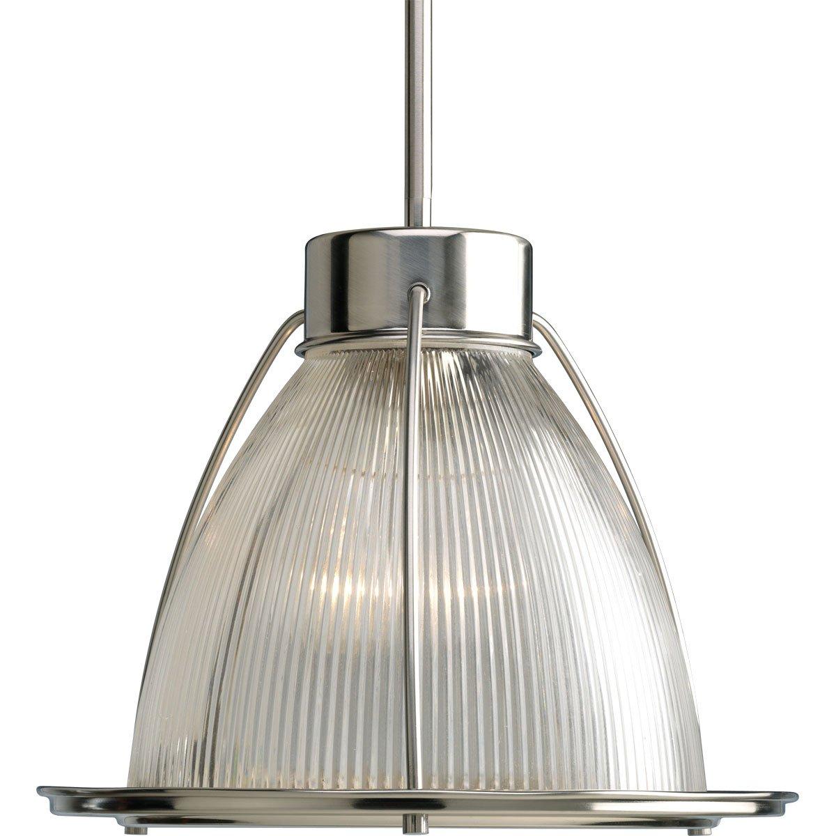 progress lighting p5182 09 1 light stem hung mini pendant with clear