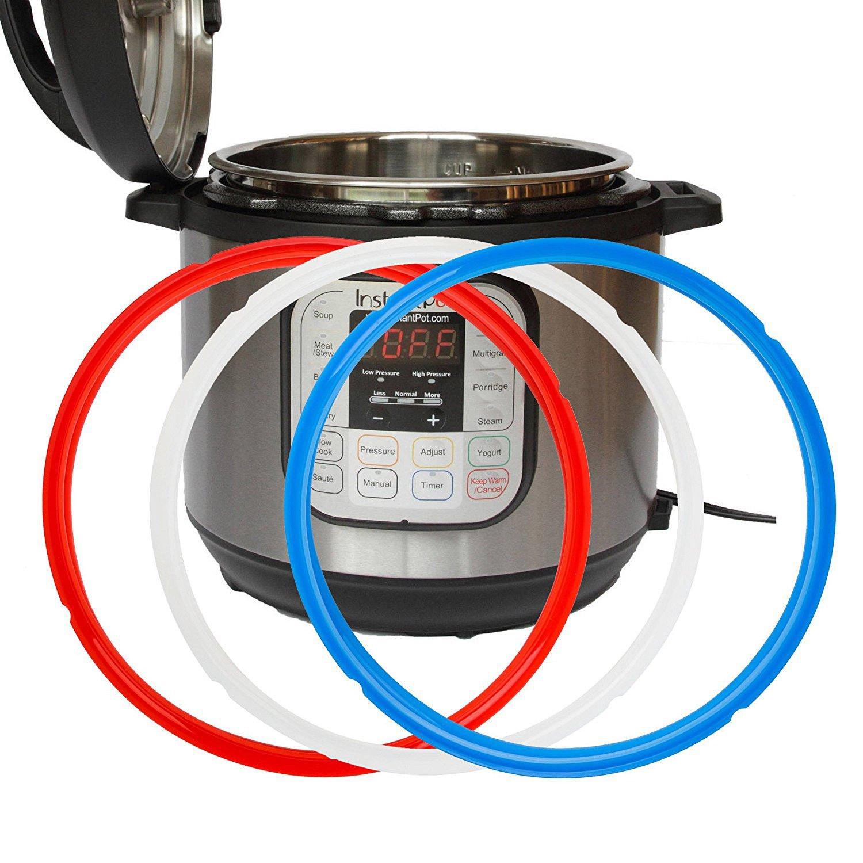 per 6 pentola da litri Instant Pot Set Anello Di Guarnizione in silicone per den elettrico pentola a pressione confezione doppia
