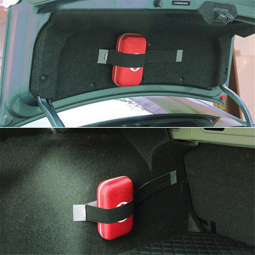 Tragbar Medizinische Tasche f/ür Hause KFZ Verbandkasten Auto kombitasche Von B/üro delibett Erste-Hilfe-Tasche 65-teiliges Auto Notfall Kit