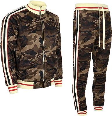 Premium Bonber Slim Fit Jogger Men/'s Tracksuit Black with Double Pockets