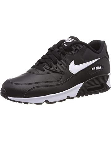 Nike Girls Air Max 90 LTR (Gs) Running Shoes 5ee3c82547c
