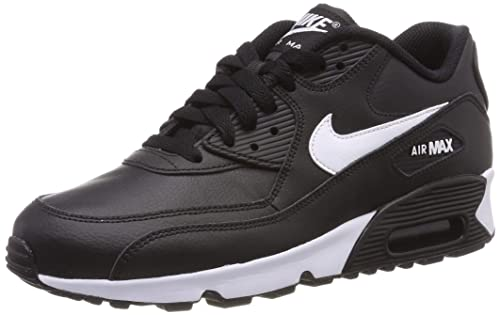2cc495a7f1 Nike Girls' Air Max 90 Leather Running Shoes: Amazon.co.uk: Shoes & Bags