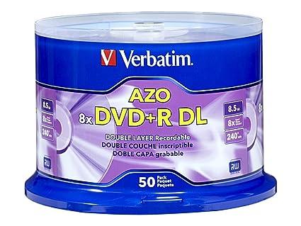 Verbatim DVD R DL 85GB 8X With Branded Surface