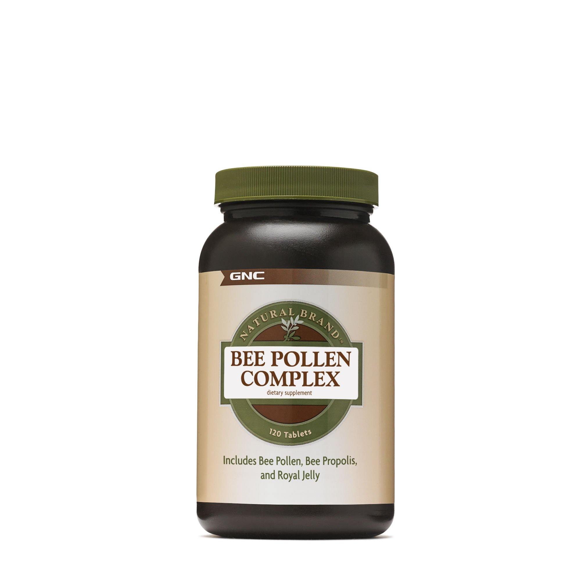 GNC Natural Brand Bee Pollen Complex, 120 Tablets
