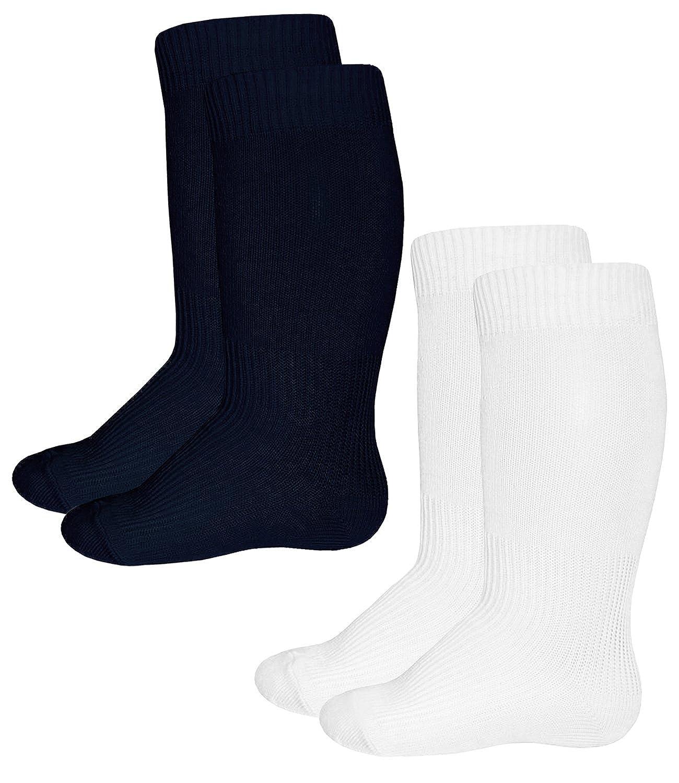 EveryKid Ewers 1er, 2er oder 3er Pack Babysocken Kniestrümpfe Jungenkniestrümpfe Kindersocken Socken Strümpfe Kleinkind einfarbig für Babys (EW-64215-S17-BJ0) inkl Fashionguide