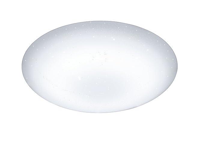 Plafoniera Con Luce Notturna : Wofi ceres lampada da soffitto 1 punto luce x led 34 w 53