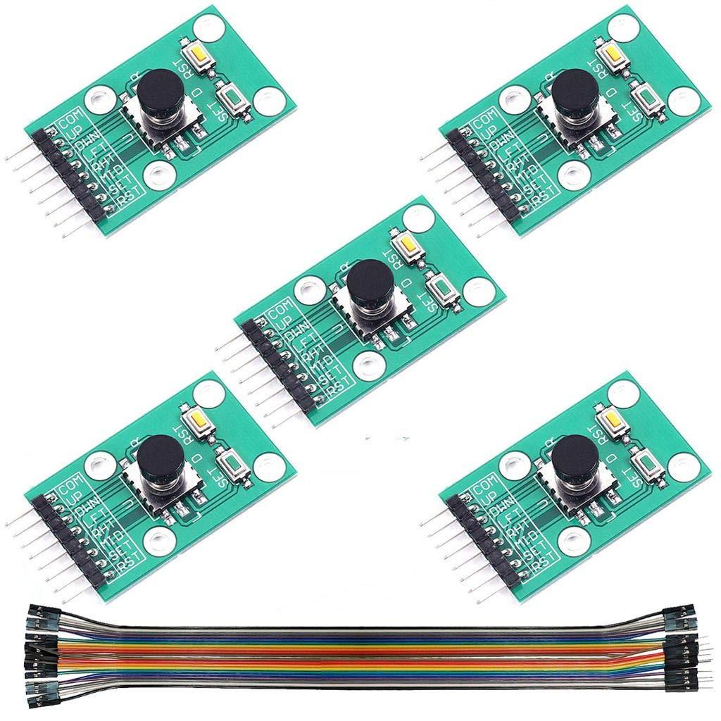 Navigation Button Module 5D Rocker stick Independent Keyboard for Arduino  TEUS