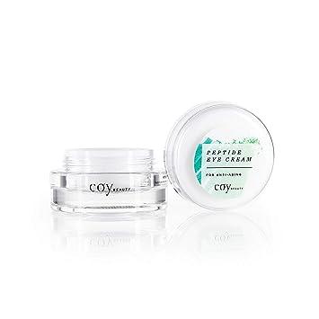 Amazon.com: Coy Beauty – Crema de ojos péptido – Crema de ...