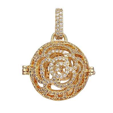 Beydodo Women Earrings Gold Hollow Heart Diffuser Earrings for Essential Oils Earrings for Wedding Party