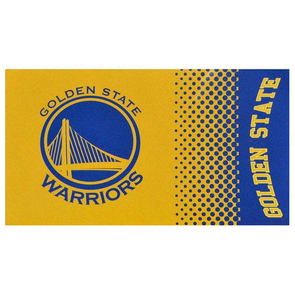 Golden State Warriors Fade Flag (One Size) (Gold/Blue) UTSG13110_1