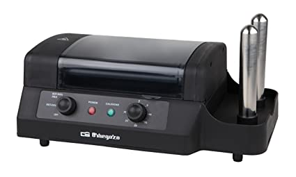 Orbegozo PR 3900 - Maquina de perritos calientes, color negro