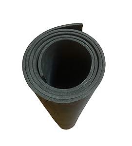 EVA Foam Cosplay 6mm Black 35 x 59 inch Sheet (Ultra High Density)