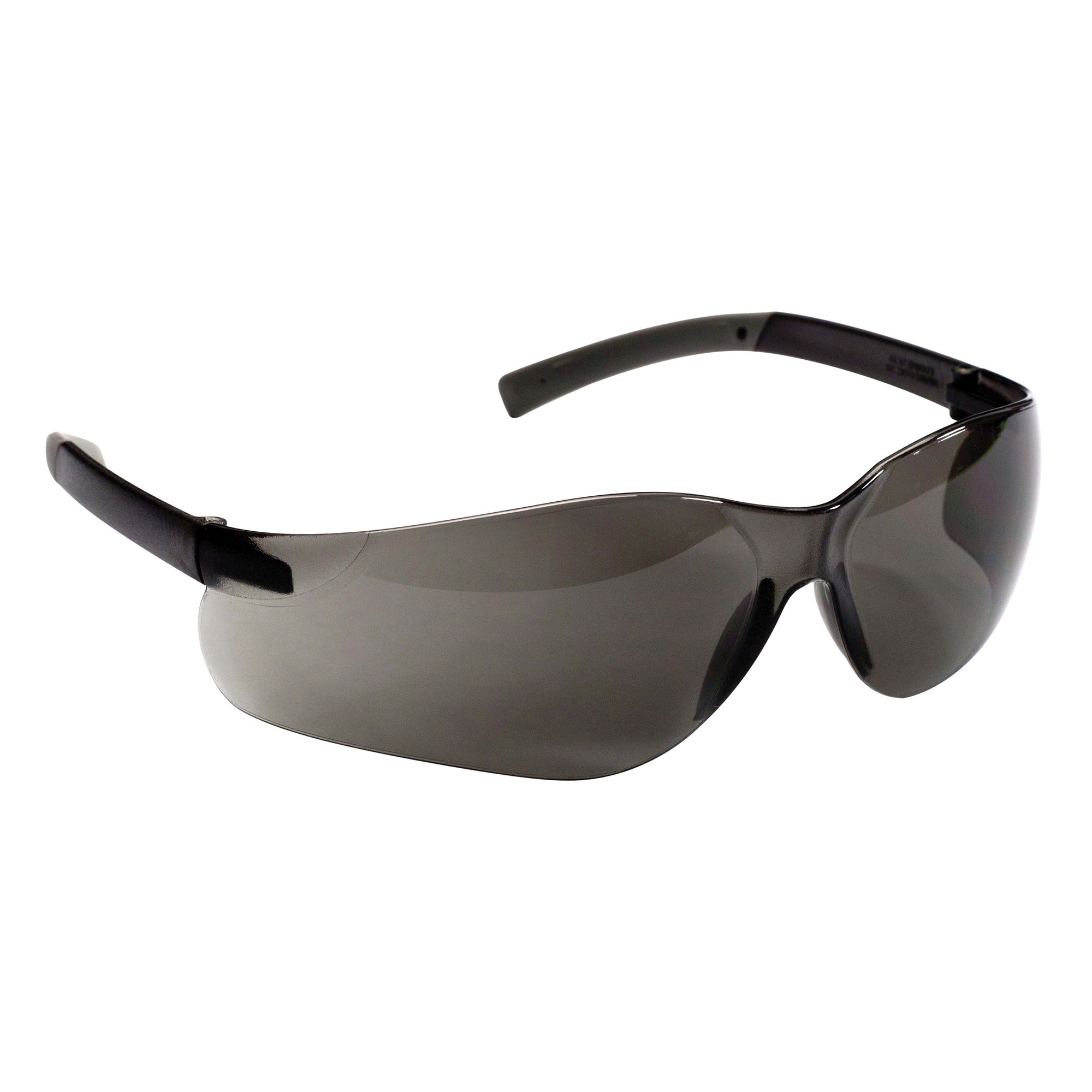 Jackson Safety V20 Purity Safety Glasses (25652), UV Protection, Hardcoated Smoke Lenses with Black Temples, 12 Pairs/Case by Jackson Safety (Image #2)