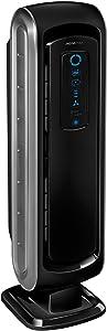 """Fellowes 9286001 AeraMax Air Purifier, 27.3"""" x 7.3"""" x 8.5"""", Black"""