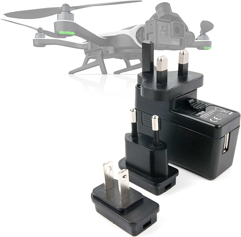 DURAGADGET Kit De Adaptadores con Cargador para Dron GoPro Karma Drone: Amazon.es: Electrónica