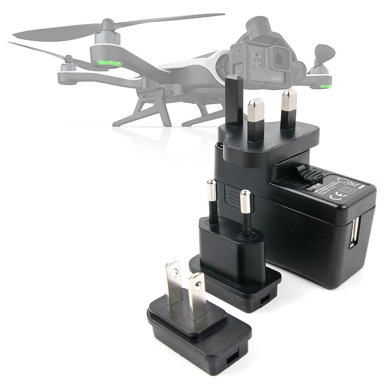 DURAGADGET Kit De Adaptadores con Cargador para Dron GoPro Karma ...