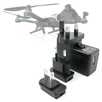 DURAGADGET Kit De Adaptadores con Cargador para Dron GoPro ...