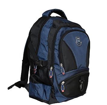 b0b05d737b10 NEW BERRY L756 großer Rucksack für Schule, Arbeit,Freizeit 40 Liter  34x50x23 (dunkelblau