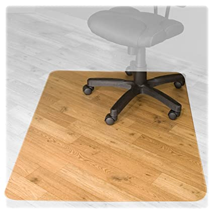 amazon com advantus recyclear chair mat for hard floors recycled