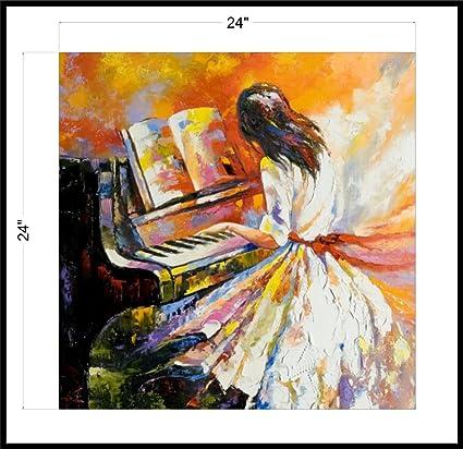 Coloron Dreamz Canvas Art Beautiful Printing Poster Lady