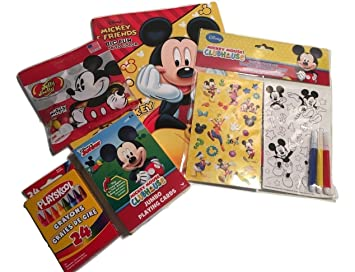 Birthday Gift For Kid S Fun With Mickey Mouse Jumbo Playing Cards