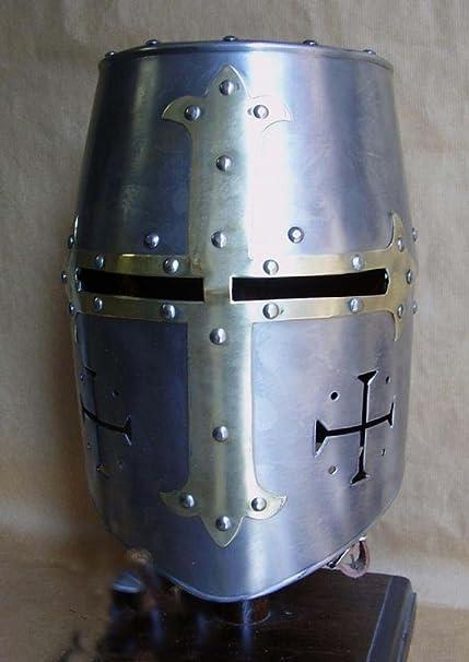 Amazon com : Chainmail Hub Teutonic Knight Helmet Knights