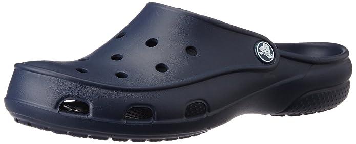 crocs Freesail Lined Clog Women, Damen Clogs, Schwarz (Black/Black 060), 41/42 EU