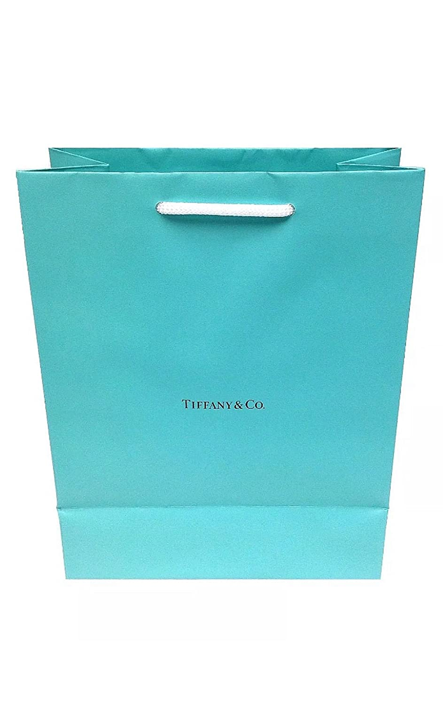 b7299598111 Amazon.com: Tiffany & Co. Bag Authentic Paper Gift Bag (size 10x8x4): Shoes