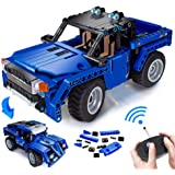 VERTOY Remote Control Building Kits, STEM Toys for Boys 6-12 Year Old, Educational Construction Set for Pickup Truck or Racin