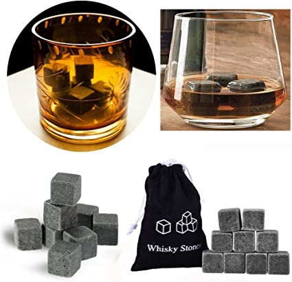 Compra 9pcs Whisky Rocks Cubito de hielo de piedras para ...