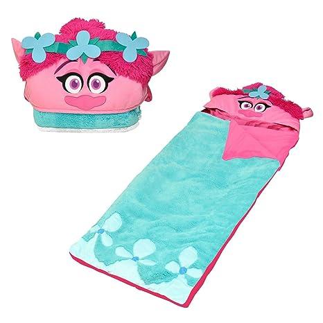 DreamWorks trols Poppy con capucha Sherpa Slumber/saco de dormir