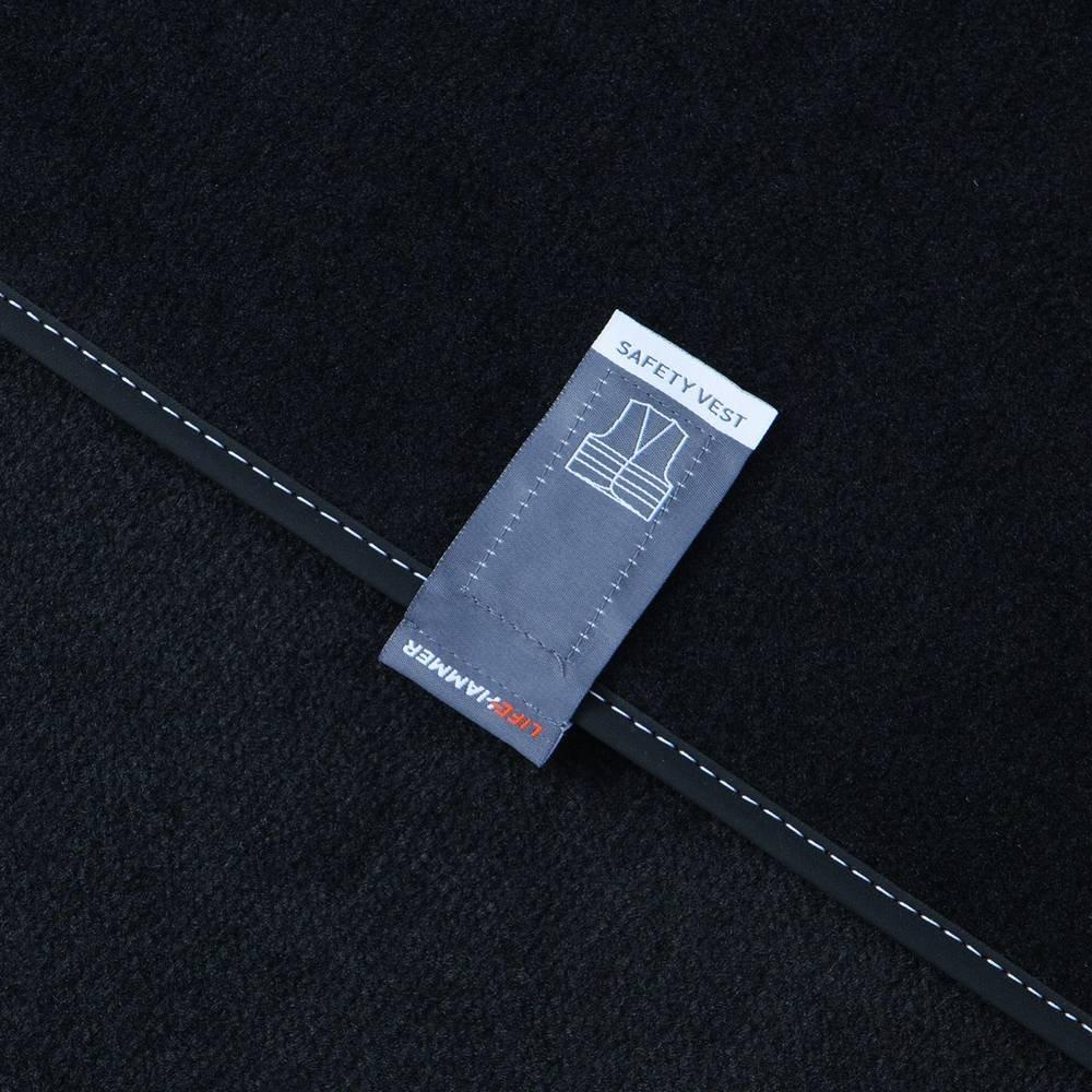 Lifehammer 10474 Sicherheitweste 4er Set Gelb Ultra flach
