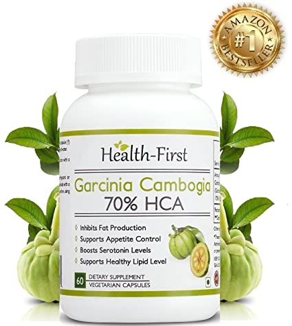 Health First 100 Natural Pure Garcinia Cambogia Max Extract Weight Loss Supplement 800 Mg 60 Capsules