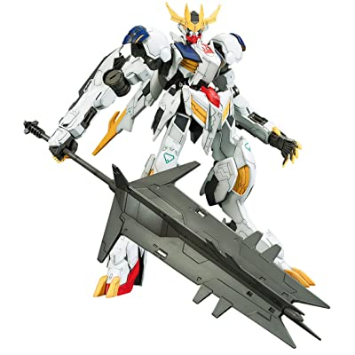 1/100 Full Mechanics Mobile Suit Gundam Iron Blood Orphans Gundam Barbatos Lupus Rex 1/100 Scale Color-coded Model Kit: Toys & Games