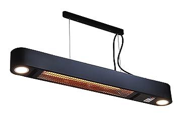 Calefacción exterior Elegance con bombillas LED–1500Watt